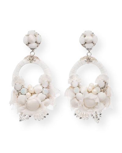 Raina Statement Clip-On Earrings