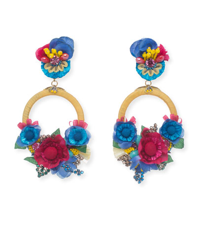 Eden Statement Clip-On Earrings