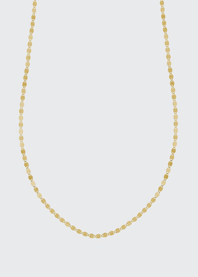 Petite Nude Chain Choker Necklace