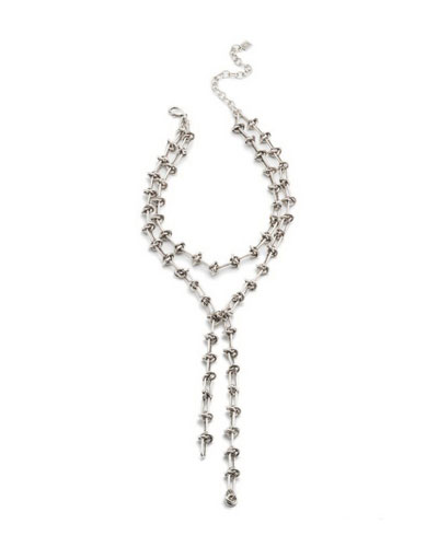 Knox Crystal Statement Necklace