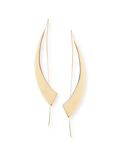 Large Gloss Hooked on Hoops Earrings