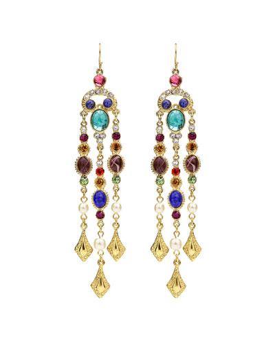 Multicolor Dangle Drop Earrings