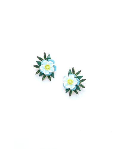 Elizabeth Cole Phoenix Stud Earrings