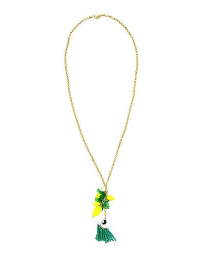 Lemon Pendant Necklace