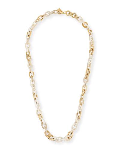 Ashley Pittman Meli Light Horn & Bronze Link