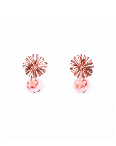 Mignonne Gavigan Karolina Petite Earrings, Pink