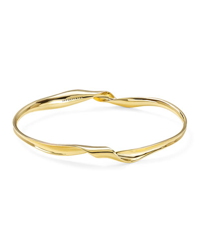 18k Classico Twisted Ribbon Bracelet