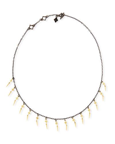 Old World Diamond Crivelli Shaker Necklace