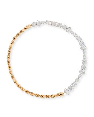 Yacht Club Asymmetric Collar Necklace
