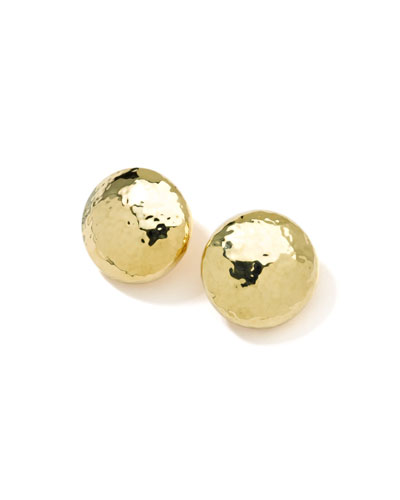 Glamazon 18k Gold Mini Dot Clip-On Earrings
