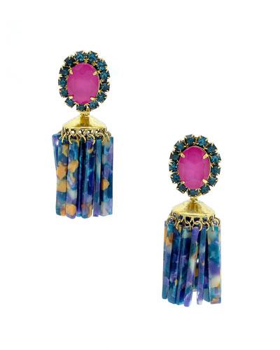 Raakel Tassel Drop Earrings