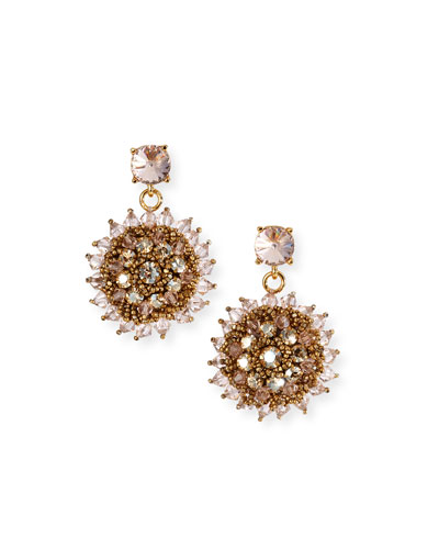 Beaded Clip-On Earrings