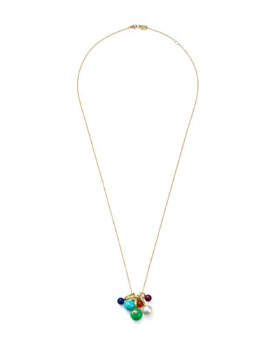 18k Nova Bead Cluster Necklace