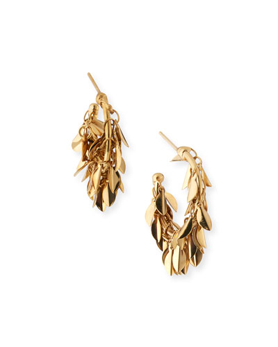 Stella Dangle Hoop Earrings
