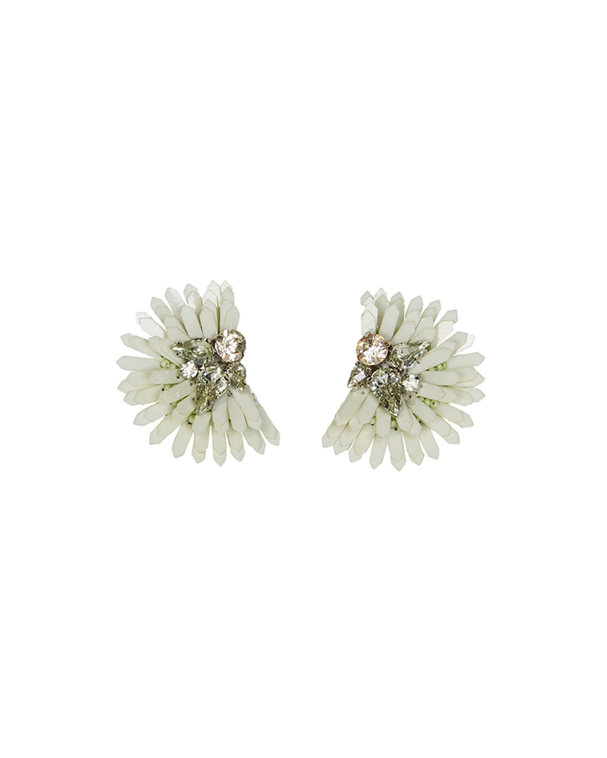 Mignonne Gavigan  ELLIE BUTTON EARRINGS