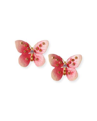 Chrysalis Butterfly Earrings