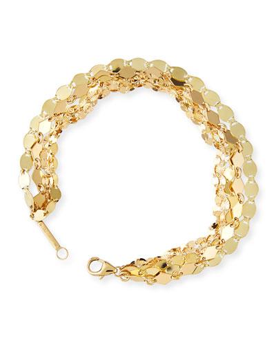 14k Mega 5-Strand Bracelet