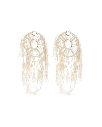 x Paula's Ibiza Dream Catchers Earrings