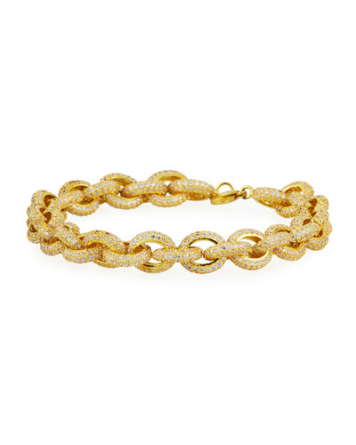 Pave-Link Bracelet