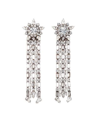 Phoebe Crystal Dangle Earrings