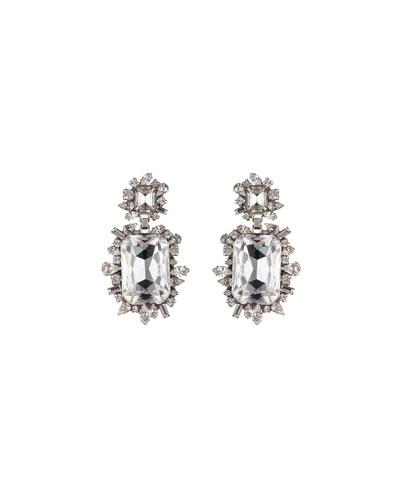 Crawford Crystal Drop Earrings