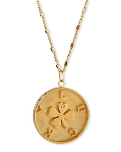 Keisha Lucky Pendant Necklace