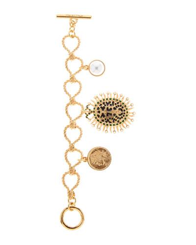 Decorative Medallion Bracelet