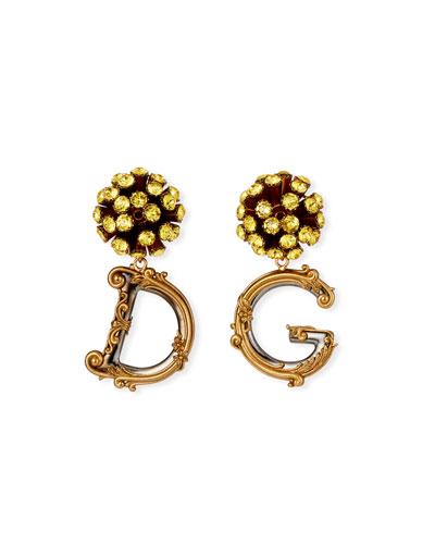Sunflower DG Drop Earrings
