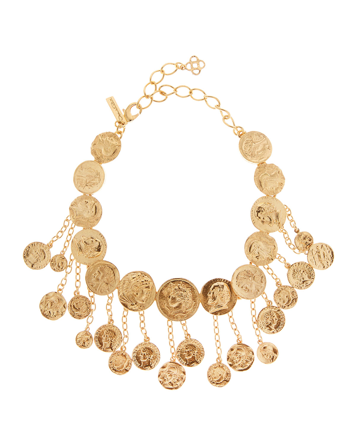 Oscar De La Renta Accessories COIN SHAKER NECKLACE