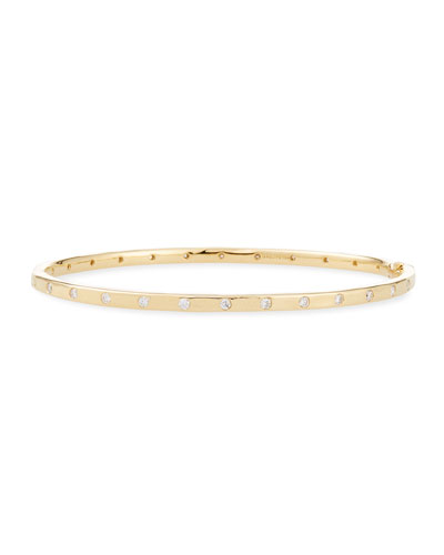 Stardust 18k All-Around Diamond Bracelet