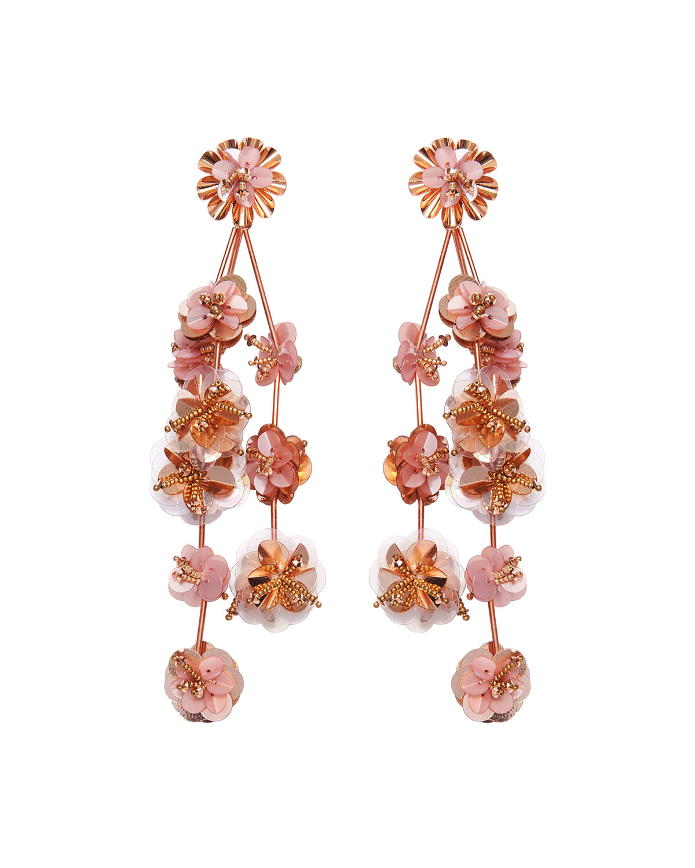 Mignonne Gavigan Accessories BRITTA FLOWER DANGLE EARRINGS