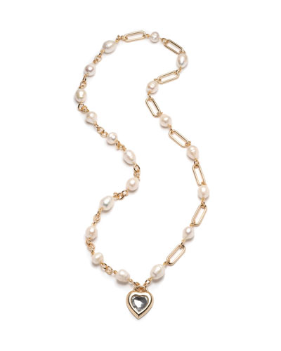 Lupe Heart-Pendant Necklace