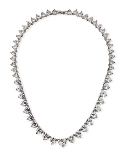 Monarch Heart Riviere Necklace