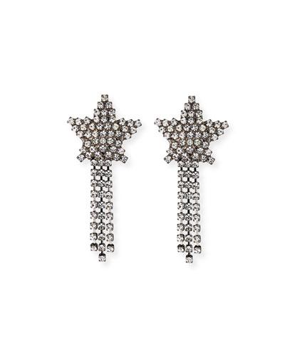 Shooting Star Crystal Earrings