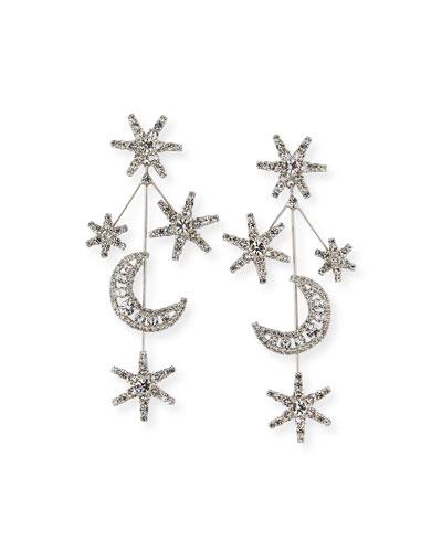 Andromeda Crystal Earrings