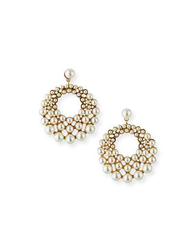 Prianna Hoop-Drop Earrings