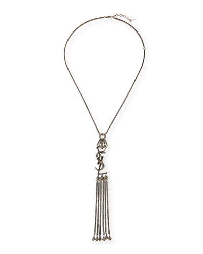 YSL Tassel Pendant Necklace