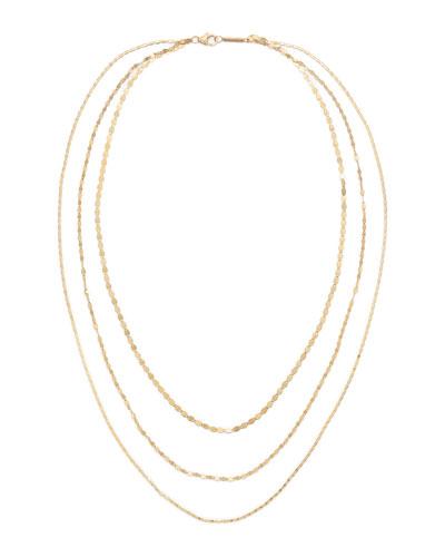 14k Multi-Chain Siena Necklace