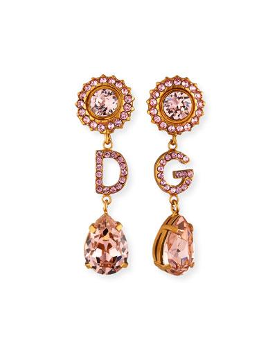 DG Crystal Drop Earrings
