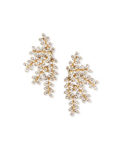 Vinessa Multi-Crystal Earrings