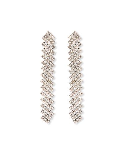 Pixie Crystal Drop Earrings