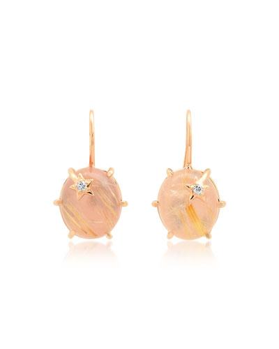 18k Mini Galaxy Star Earrings