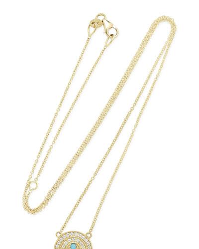 18k Mini Rainbow Necklace