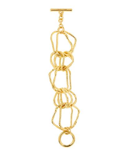 Hammered Link Bracelet