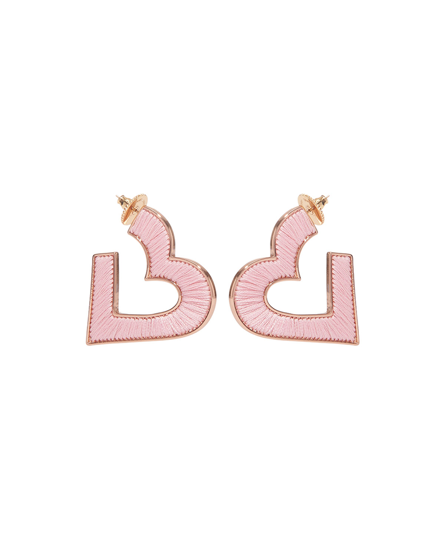 Mignonne Gavigan Jewelries FIONA HEART HOOP EARRINGS
