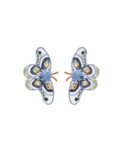 Atlas Moth Stud Earrings