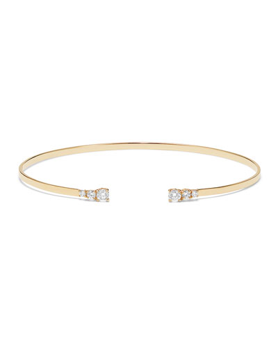 14k Echo Diamond Bracelet