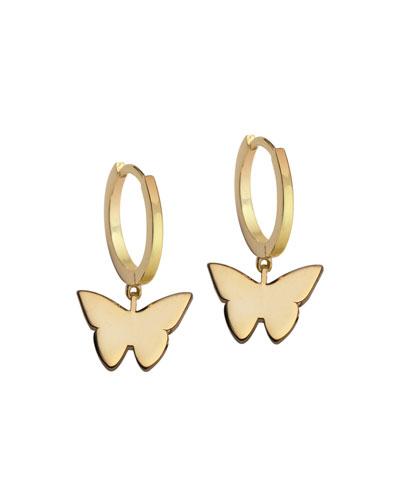 Mariah Huggie Earrings