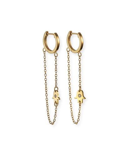 Vanna Huggie Earrings