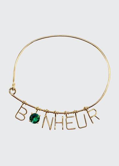 Bonheur Charm Bracelet